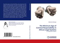 Bookcover of The Minimum Age of Criminal Responsibility in African Legal Systems
