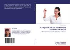 Copertina di Campus Climate for Female Students in Nepal