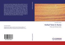 Couverture de Verbal Tone in Kuria