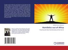 Bookcover of Homiletics out of Africa