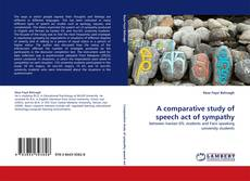 Bookcover of A comparative study of speech act of sympathy