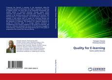 Borítókép a  Quality for E-learning - hoz