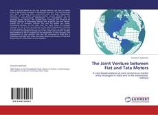 Bookcover of The Joint Venture between Fiat and Tata Motors
