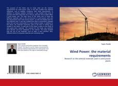 Portada del libro de Wind Power: the material requirements