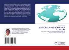 PASTORAL CARE IN AFRICAN CONTEXT的封面