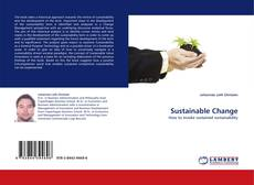 Bookcover of Sustainable Change