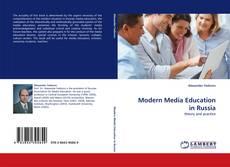 Borítókép a  Modern Media Education in Russia - hoz