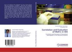 Buchcover von Correlation and Evaluation of HbA1c in IDA