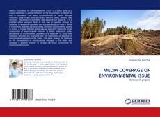 Borítókép a  MEDIA COVERAGE OF ENVIRONMENTAL ISSUE - hoz