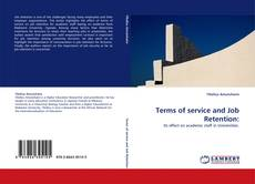 Buchcover von Terms of service and Job Retention: