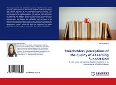 Buchcover von Stakeholders' perceptions of the quality of a Learning Support Unit
