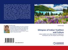 Copertina di Glimpses of Indian Tradition and Culture