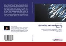 Portada del libro de Obtaining business benefits from IT
