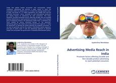 Advertising Media Reach in India kitap kapağı