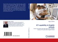 Bookcover of ICT capability in English schools