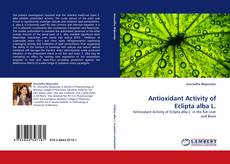 Buchcover von Antioxidant Activity of Eclipta alba L.