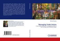 Capa do livro de Managing Trade Unions