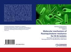 Portada del libro de Molecular mechanism of fluoroquinolone resistance for M.tb isolates