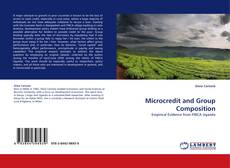 Couverture de Microcredit and Group Composition