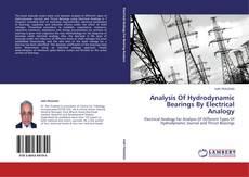 Capa do livro de Analysis Of Hydrodynamic Bearings By Electrical Analogy