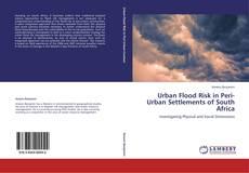 Portada del libro de Urban Flood Risk in Peri-Urban Settlements of South Africa