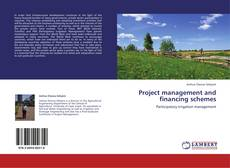 Bookcover of Project management and financing schemes