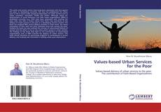 Buchcover von Values-based Urban Services for the Poor