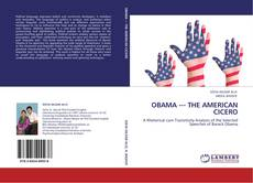 OBAMA --- THE AMERICAN CICERO kitap kapağı