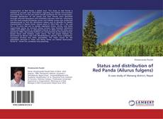 Portada del libro de Status and distribution of Red Panda (Ailurus fulgens)
