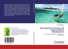 Bookcover of Management Training and Organisational Development