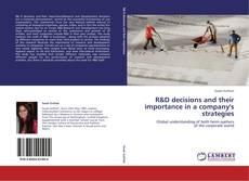 Обложка R&D decisions and their importance in a company's strategies