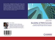 Bookcover of Durability of POFA Concrete