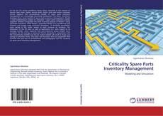 Copertina di Criticality Spare Parts Inventory Management