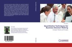 Capa do livro de Quantitative Techniques for Business Decision Making