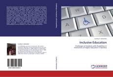 Bookcover of Inclusive Education