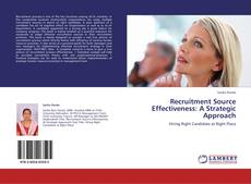 Обложка Recruitment Source Effectiveness: A Strategic Approach