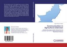 Bookcover of Communication in Agriculture Extension