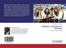 Copertina di Children's Literature in Rwanda