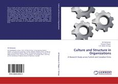 Bookcover of Culture and Structure in Organizations