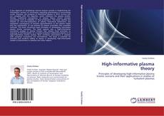 Bookcover of High-informative plasma theory