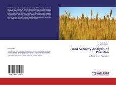 Food Security Analysis of Pakistan kitap kapağı