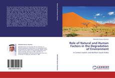 Bookcover of Role of Natural and Human Factors in the Degradation of Environment