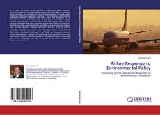 Buchcover von Airline Response to Environmental Policy
