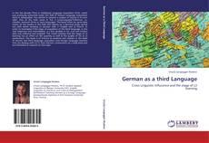 German as a third Language的封面