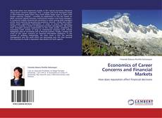 Buchcover von Economics of Career Concerns and Financial Markets