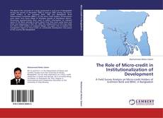 The Role of Micro-credit in Institutionalization of Development kitap kapağı