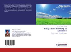 Bookcover of Programme Planning in Extension