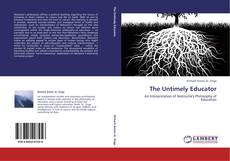 Bookcover of The Untimely Educator