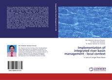 Portada del libro de Implementation of integrated river basin management - local context