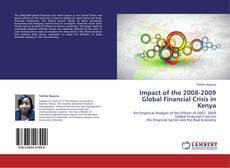 Portada del libro de Impact of the 2008-2009 Global Financial Crisis in Kenya